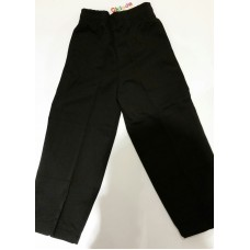 Black Double Knee Pants