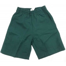 Bottle Green Shorts