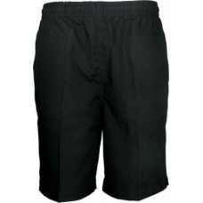 Straight Pocket Short-Black