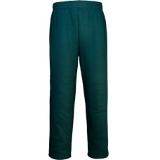 DOUBLE KNEE TRACK PANTS / Bottle Green