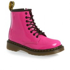 Delaney Hot Pink Patent Boots