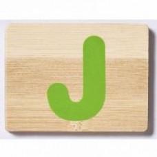Bamboo Letter J