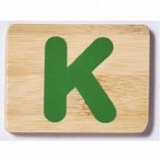 Bamboo Letter K