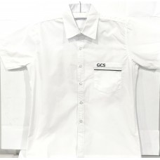 Gold Creek Y7-Y10 Boys White Shirt