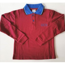 Gold Creek L/Sleeve Polo (New Logo)