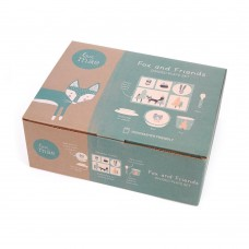 Bamboo 5pc Set- Fox and Friends