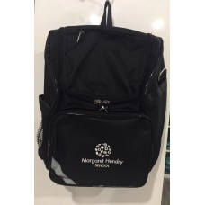 Black School Bag With Logo
