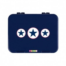 BENTO BOX - NAVY STAR