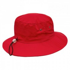 Red Micro Bucket Hat