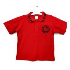 Majura Short/Sleeve  Red Polo