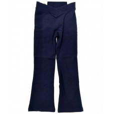 Bootleg Pants Navy/Fleece