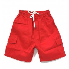 Forrest Red Cargo Shorts